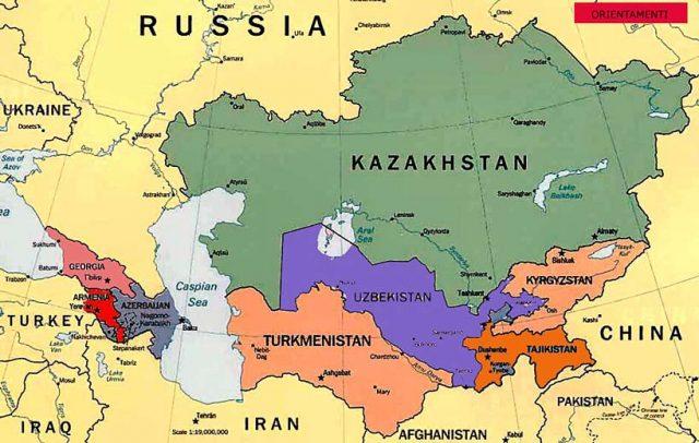 Asia Centrale Cartina Geografica.La Nuova Strategia Turca In Asia Centrale Il Caffe Geopolitico