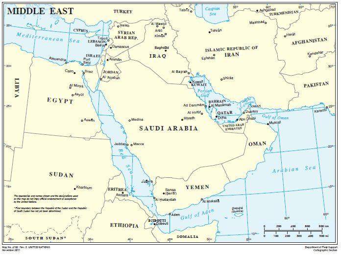 Cartina Muta Afghanistan.Geopolitica Del Commercio Di Armi Nel Golfo Il Caffe Geopolitico